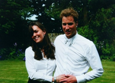William and Kate at their graduation from St. Andrews
