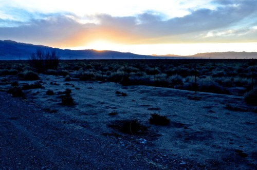 Sunrise, Death Valley.