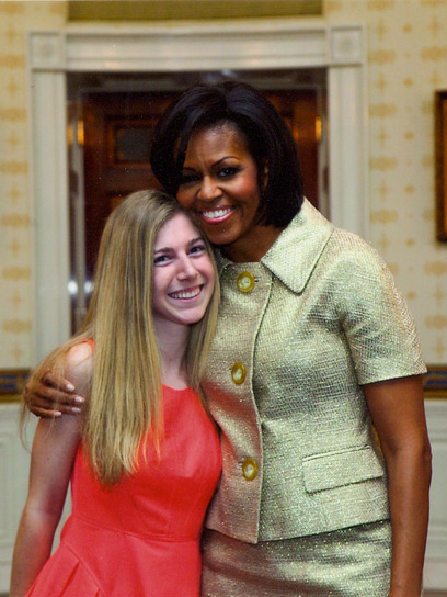 Giving back: Meet 15-year-old Shannon McNamara who traveled from her home in New Jersey to educate girls in Tanzania. Her charitable efforts has garnered applause from major stars like Michelle Obama and Miley Cyrus. Learn more about Shannon here »