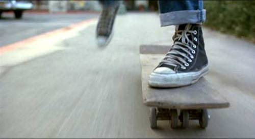 Marty McFly in Converse Sneakers