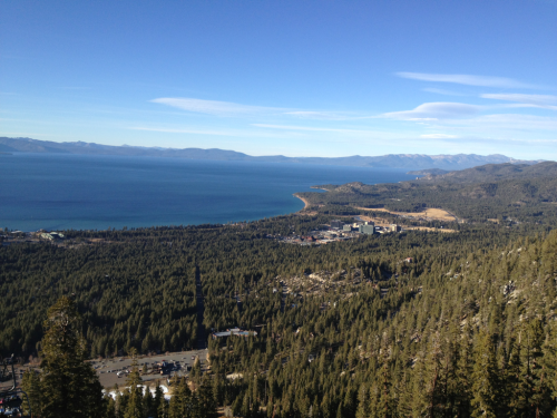 Lake Tahoe, California at 7000 feet.
