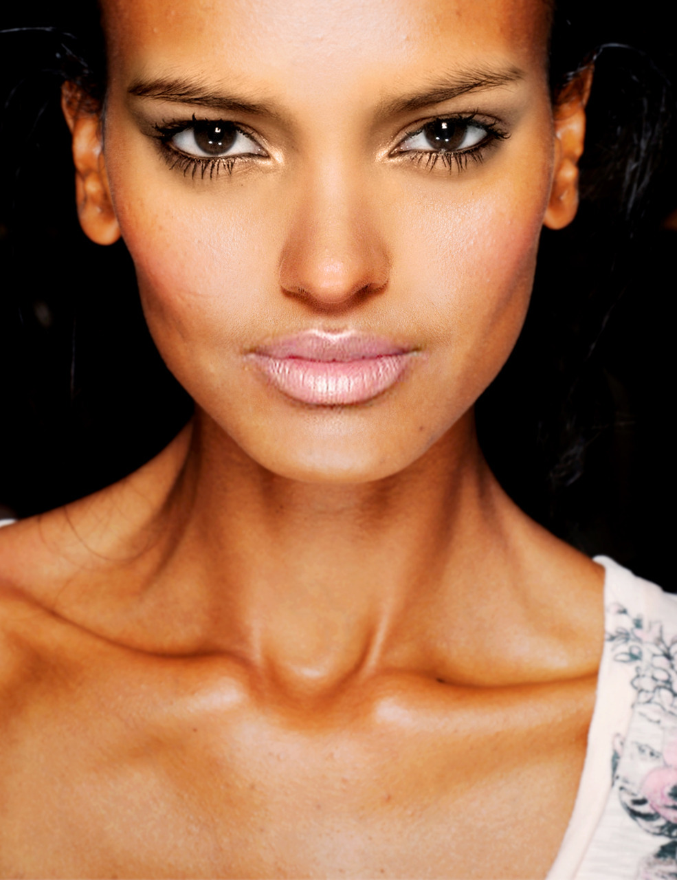 Base: Liya Kebede Eyes: Juana Burga Nose: Jourdan Dunn Mouth: Arlenis Sosa