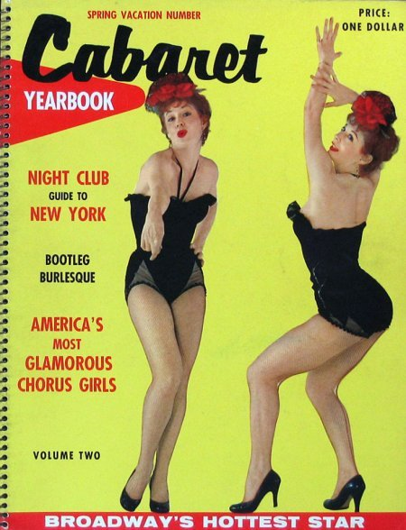 old-ads-and-mags:  Cabaret Yearbook, 1950's