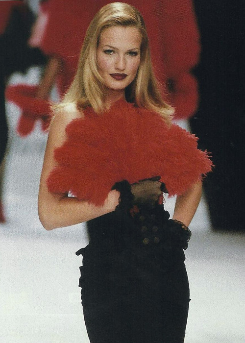 Karen Mulder @ Chantal Thomass F/W 1994