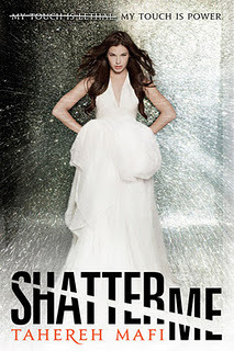 totallybookalicious:  BOOK REVIEW: Shatter Me by Tahereh Mafi Reviewed by: Siobhán 5/5