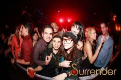 Swobbin' at Surrender for Steve Aoki!