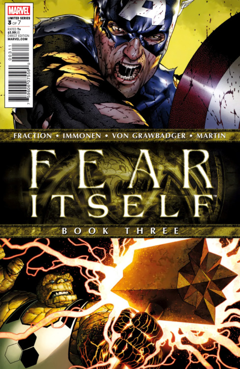 Finally finished reading Fear Itself