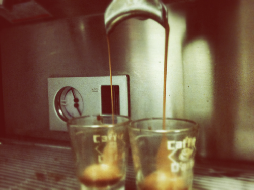 The day should always begin with some good crema. Pure joy in a shot glass.