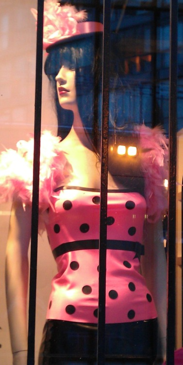 Hey! I recognize this :P It's a top I made on display in a local shop window.