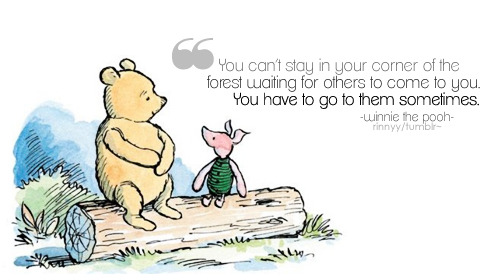 quote-book:  Winnie the Pooh by A. A. Milne / via rinnyy~