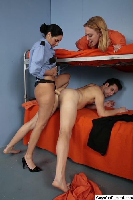 swrredhead:  See honey, when I said we were playing the prison rape fantasy game you thought you would be the guard, but you get to be with two women, and well, I know how much you love anal, you dirty boy  It's a very important distinction… see, this is why it's good to talk about kinks and negotiate power exchange. Personally, I like this fantasy a lot…