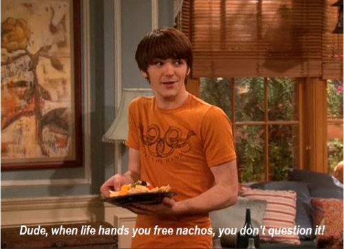 I humbly accept any nachos that make their way into my possession!