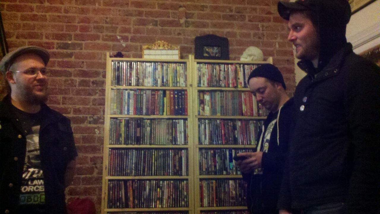 Hangin' with Mickey Lazzlo and his insane movie collection in Richmond. That's not even half of it.