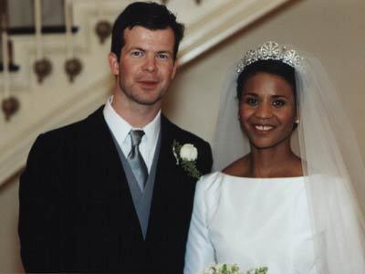 doriansennui:   Princess Angela of Liechtenstein is the first and only black princess in reigning European monarchy. They're so precious, I think this should have got much more media attention, the first royal interracial marriage is something that should have been celebrated!   Let's hear more about this PoC princess.