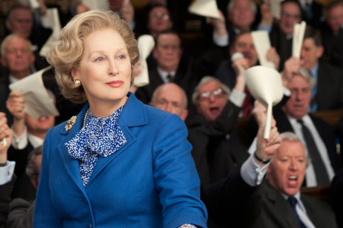 The Iron Lady starring Meryl Streep. See it. Support women in film.