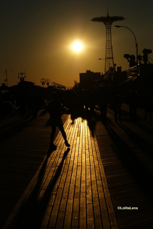 Into the Light… Coney Island, Brooklyn NY