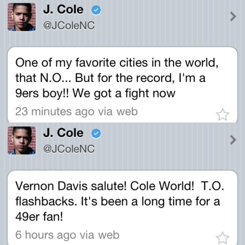 How can you not love J Cole? My nigga Gold Blooded too