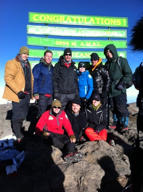 Team Kilimanjaro left at 5 am this morning and reached the summit at 715! After a 12 hour climb through the Western Breach, Team Kilimanjaro camped at 18500 last night, setting up the historic summit on Jan 15th.