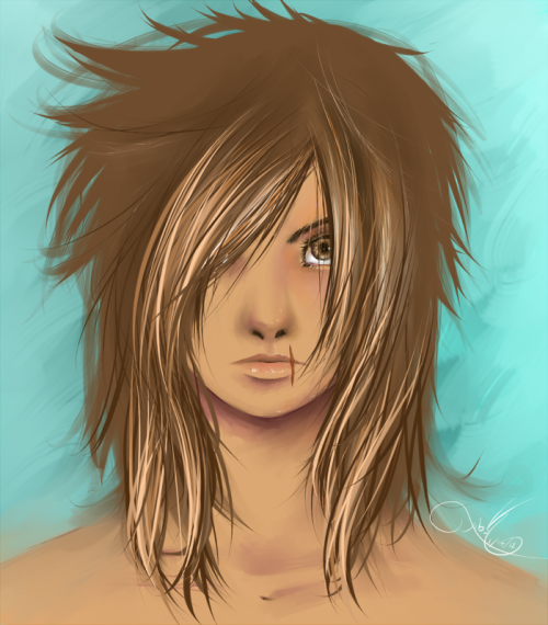 Speed-paint of Oli's Riley. Made her a tad too feminine, but I like how the eyes turned out.