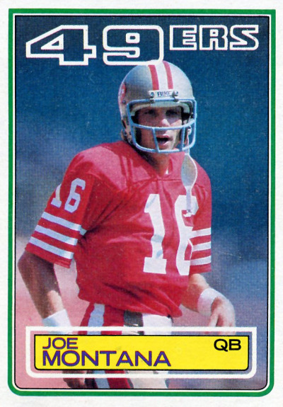 Football Sunday Joe Montana