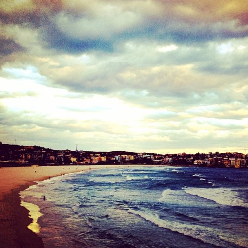 Beach Daze at Bondi (Taken with instagram)