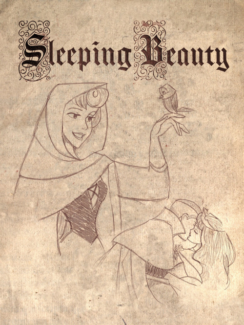 "zelatinas:  ""Sleeping Beauty"" by LathronAniron"