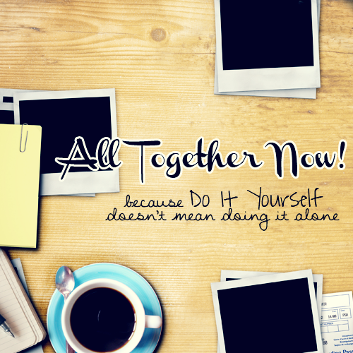 All Together Now! is a community of creatives who contribute in weekly assignments meaning to bring about fun inspiration. It is intended to appeal to a broad range of artists at any skill level. ATN! is heavily reliant on collaboration and participation, so if you are a fanatic of photgraphy, a dabbler in drawing, king or queen of crafts, maybe a writer of wonder, feel free to come give us a look see!  Oh my god, you guys. Look at what Joanna made! It makes everything feel ten times more legit, in my opinion.  Go give it a once over if you haven't already! The first assignment is up!
