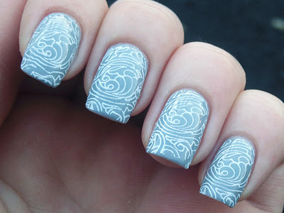 Stamping with Dashica Big SdP D on Artdeco 108