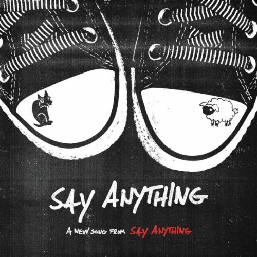 "vexedcontrol:  Say Anything will release their next single entitled ""Say Anything"" on February 14th. You can check out the single artwork above. The track is featured on their upcoming album, Anarchy, My Dear, out March 13th.   Those are sherri's shoes! I just realized! Too cute…"