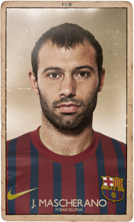 Modern Vintage - Football Playing CardsA new twist on an old idea… FC Barcelona