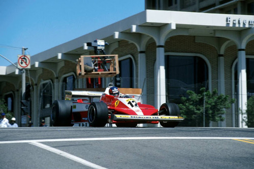 Gilles Villeneuve / Ferrari 312 US GP / Long Beach, 1978.