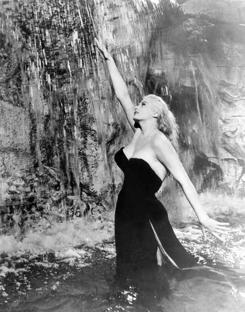 She owned Trevi. (Anita Ekberg, from La Dolce Vita)