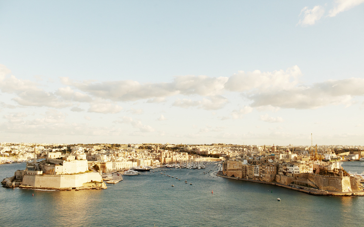 Valletta, Malta. Visited this island in the Mediterranean last week for big job I'll be working on for the next couple months. Incredible place with some equally dynamic and genuine people.