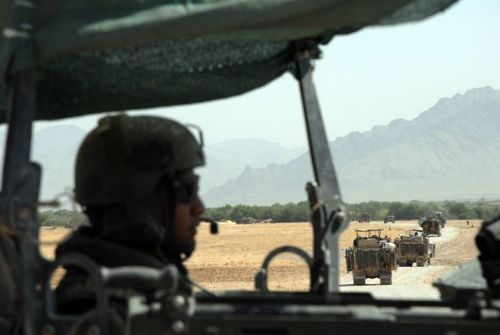 Dutch Marines near Combat Outpost Tabar in Uruzgan, Afghanistan.  © 2012 · Claire Felicie Photography