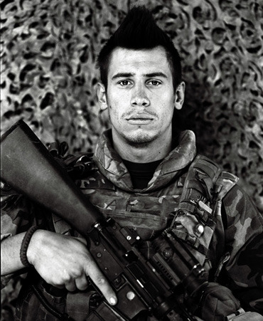 A Dutch marine back from patrol in Uruzgan province. © 2012 · Claire Felicie Photography