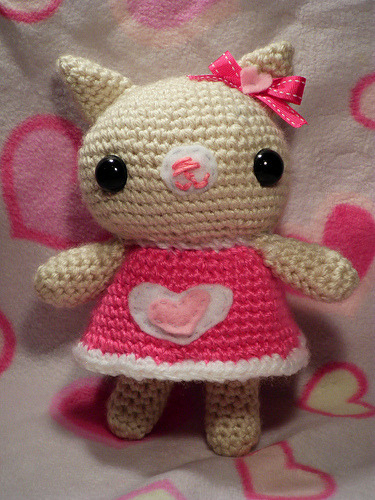 Valentines Kitty cat  (by Crazy Craft)