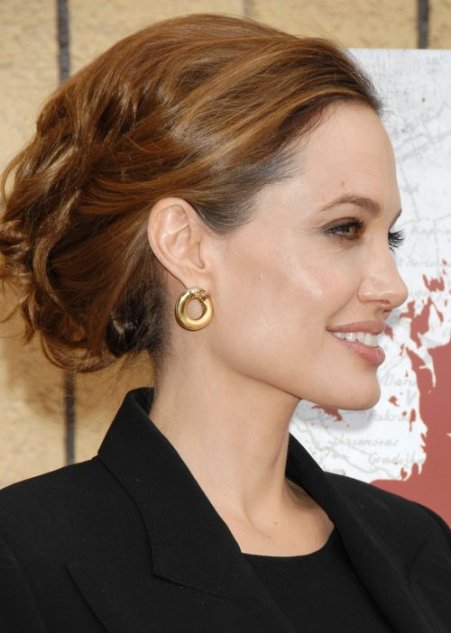 Angelina Jolie @ Golden Globes Foreign-Language Nominee Series in Hollywood, CA - January 14, 2012.
