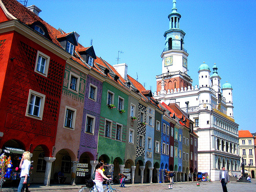 Colourful Poznan, Poland (by gusia's_world)