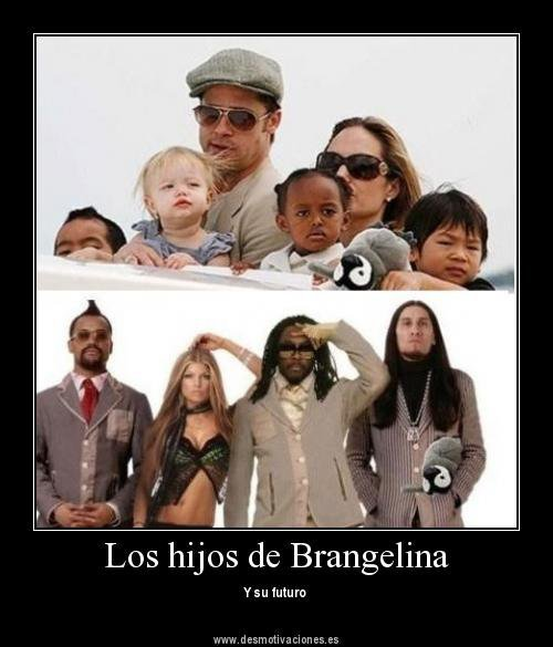 ampyvengeanze:  the future of Brangelina kids!!.. the black eyed peas… mother of god D: