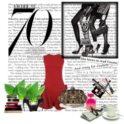 The NIGHT of Me!!! by stylemystique featuring a red wool dress