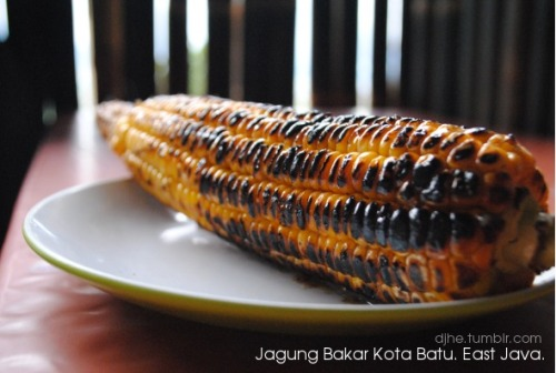 "West Java has ""Puncak"". East Java has ""Kota Batu"".. Jagung Bakar in the cold weather. Yummy."