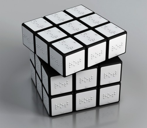 debt:  Braille Rubik's Cube
