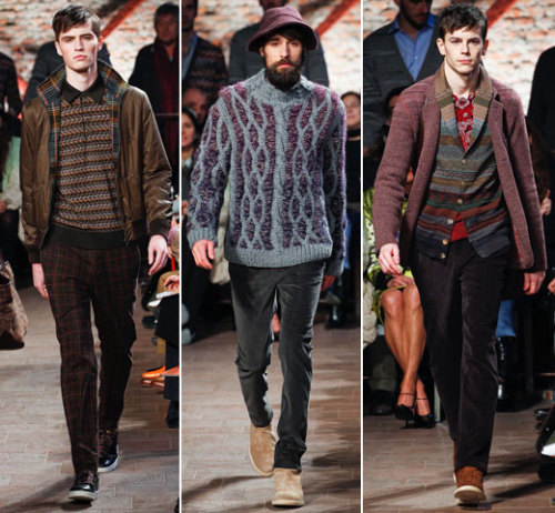 gqfashion:  First Look: Missoni Fall 2012 See the full Missoni Fall 2012 men's collection from Milan right now at GQ.com.