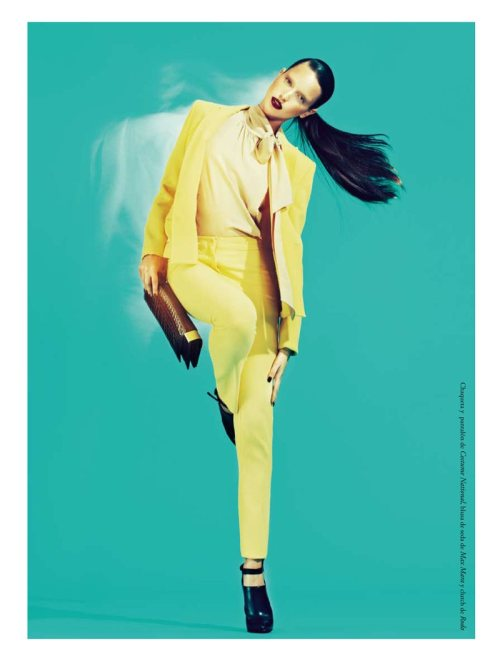 Amina Kaddur by Andoni & Arantxa for View of the Times…amazing colors