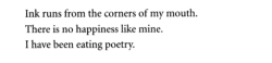 "aseaofquotes:  Mark Strand, ""Eating Poetry"""