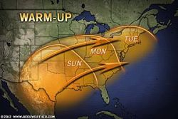 Temperature Roller Coaster to Affect the East This Week