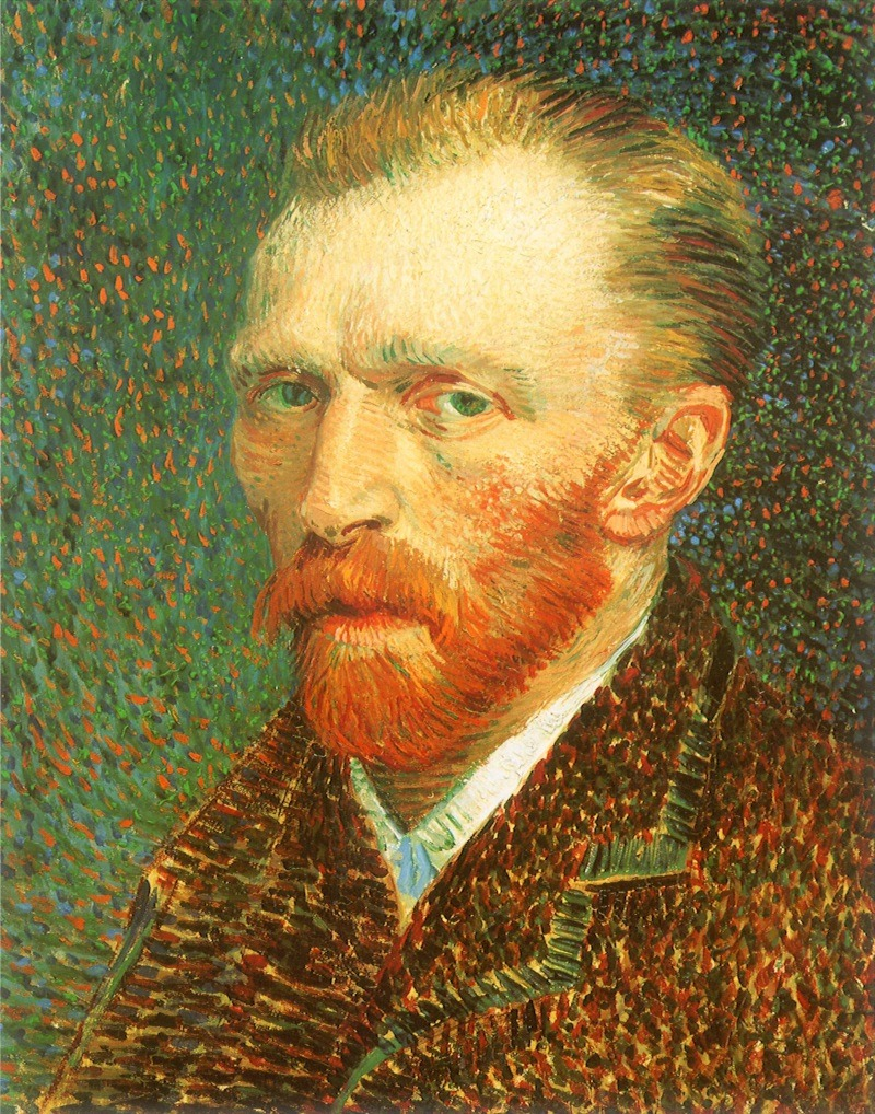 Vincent van GoghAutoportraitHuile sur toile de lin42 x 33,7 cm - 1887(The Art Institute, Chicago, Etats-Unis)