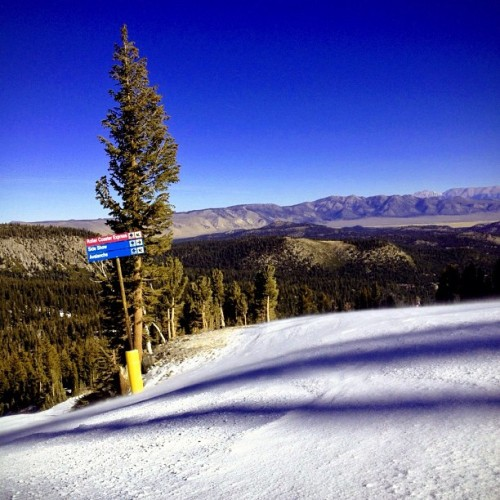 Tranquility to base… (Taken with Instagram at Mammoth Mountain Ski Resort)