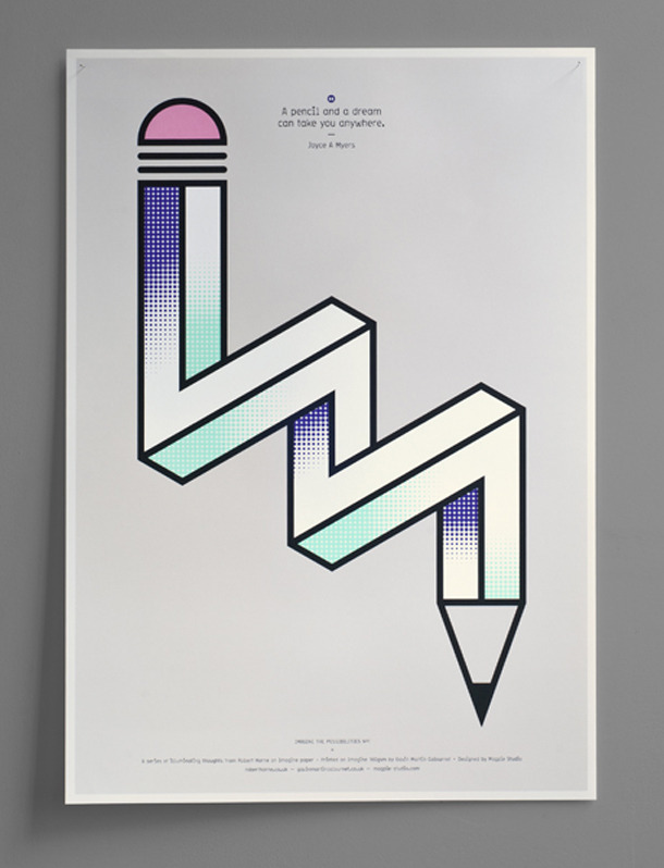 victimize:  This is a project done by Magpie Studio, a London-based design firm.