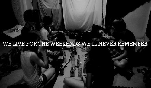 Ohhhh Weekend :) So glad you're here finally…
